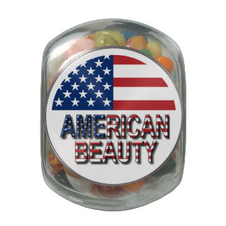Beautiful girls jelly belly candy jar