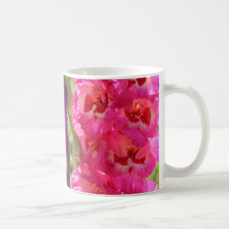 Beautiful Gladiolus Blooms Coffee Mug