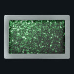 "Beautiful Glamour Dark Green glitter sparkles Belt Buckle<br><div class=""desc"">Beautiful girly glamorous green shiny glitter sparkles. 