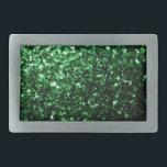 """Beautiful Glamour Dark Green glitter sparkles Belt Buckle<br><div class=""""desc"""">Beautiful girly glamorous green shiny glitter sparkles.  Photo of Green sparkles not actual glitters!</div>"""
