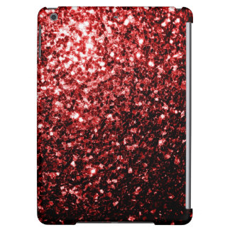 Beautiful Glamour Red Glitter sparkles iPad Air Covers