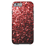 Beautiful Glamour Red Glitter sparkles iPhone 6 Case