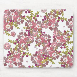 Beautiful glass flowers mouse pad