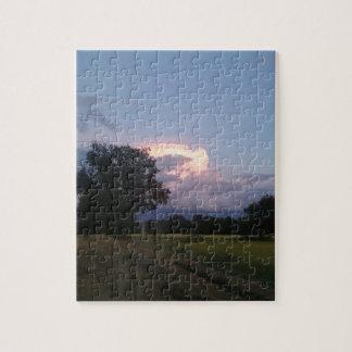 Beautiful glowing cloud jigsaw puzzle