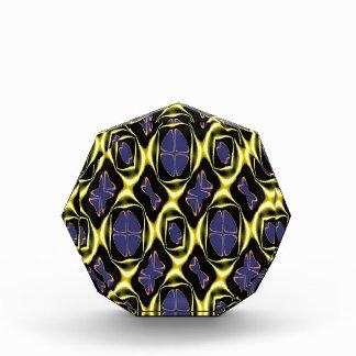 Beautiful Gold & Blue Pattern,Multiple Product Sel Acrylic Award