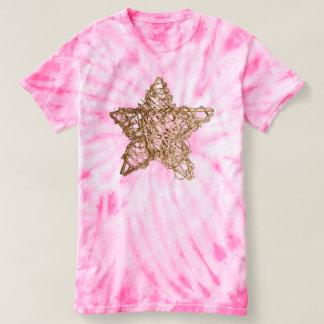 Beautiful Gold Christmas Star T-shirt
