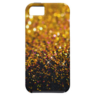 Beautiful gold sparkly glitter Apple iPhone case