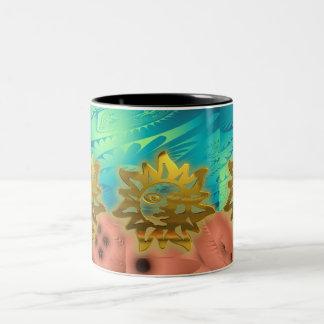 Beautiful Gold Sun Mug