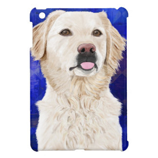Beautiful Golden Retriever with his Tongue Out iPad Mini Cases
