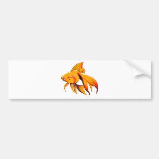 Beautiful Goldfish Bumper Sticker