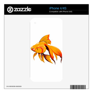 Beautiful Goldfish iPhone 4 Skin