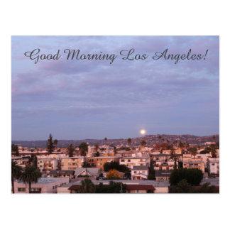 Beautiful Good Morning Los Angeles Postcard! Postcard