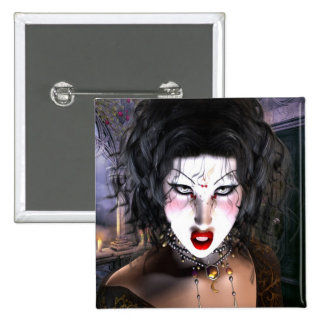 Beautiful Gothic Art 2 Inch Square Button