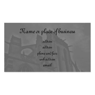 Beautiful Gothic cathedral Business Card