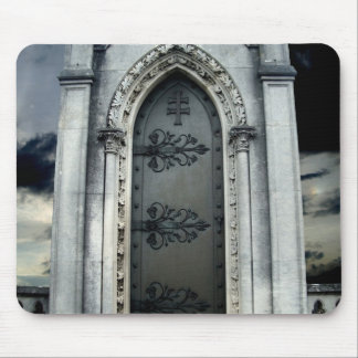 Beautiful gothic crypt mouse pad