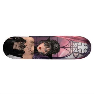Beautiful Gothic Queen & Window Skateboard Deck