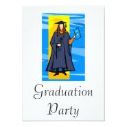 Beautiful Grad Personalized Invitation