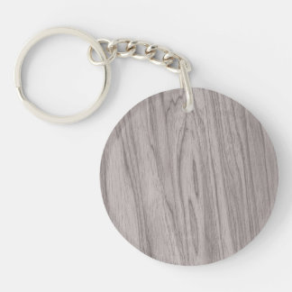 Beautiful Gray Wood Texture Acrylic Key Chains