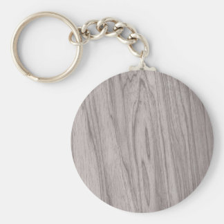 Beautiful Gray Wood Texture Keychains