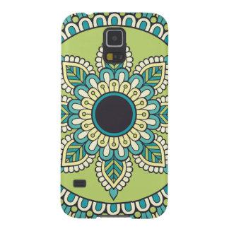 Beautiful green Boho Design Galaxy S5 Cover