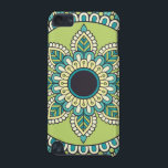 "Beautiful green Boho Design iPod Touch (5th Generation) Cover<br><div class=""desc"">Beautiful green Boho Design</div>"