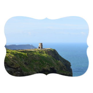 Beautiful Green Cliffs of Moher Card