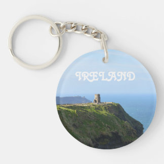 Beautiful Green Cliffs of Moher Keychain