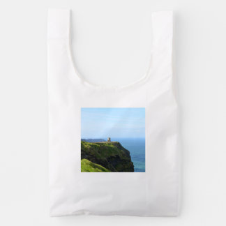 Beautiful Green Cliffs of Moher Reusable Bag