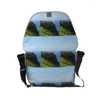 Beautiful Green Cliffs of Moher Small Messenger Bag