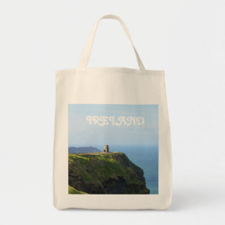 Beautiful Green Cliffs of Moher Tote Bag