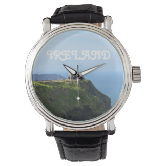 Beautiful Green Cliffs of Moher Wristwatch