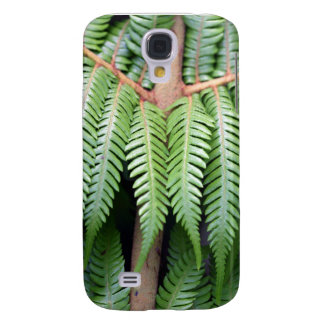 Beautiful green fern nature details galaxy s4 case