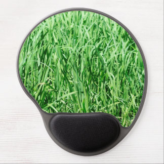Beautiful Green Grass Gel Mouse Pad