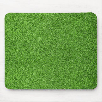 Beautiful green grass texture from golf course mouse pad
