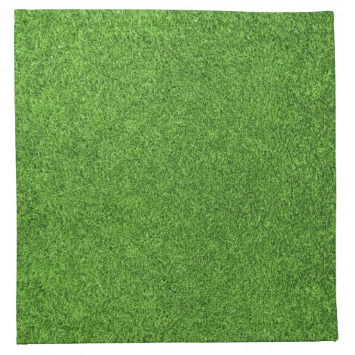 Beautiful green grass texture from golf course napkin | Zazzle