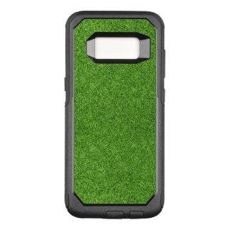 Beautiful green grass texture from golf course OtterBox commuter samsung galaxy s8 case