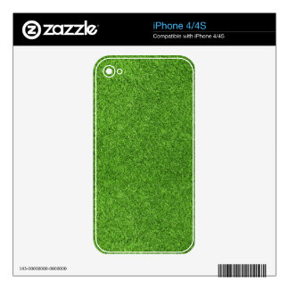Beautiful green grass texture from golf course skin for the iPhone 4S