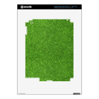 Beautiful green grass texture from golf course skins for iPad 3