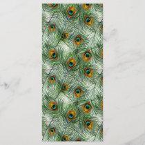 Beautiful Green Peacock Feather