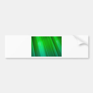 Beautiful Green Ray Bumper Sticker
