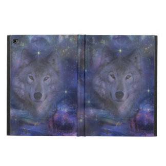 Beautiful Grey Wolf in the Moonlight Powis iPad Air 2 Case