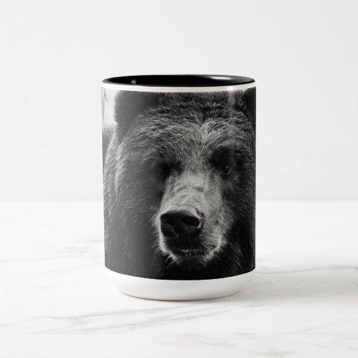 Beautiful Grizzly Bear Coffee Mugs