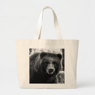 Beautiful Grizzly Bear Photo Tote Bags