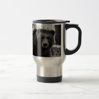 Beautiful Grizzly Bear Photo 15 Oz Stainless Steel Travel Mug