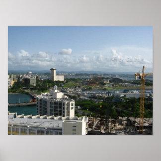 Beautiful Growing San Juan, Puerto Rico Poster