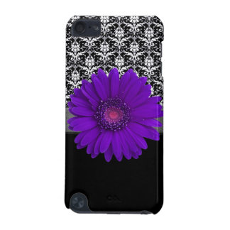 Beautiful Grunge Style Purple Daisy Abstract Art iPod Touch 5G Cover