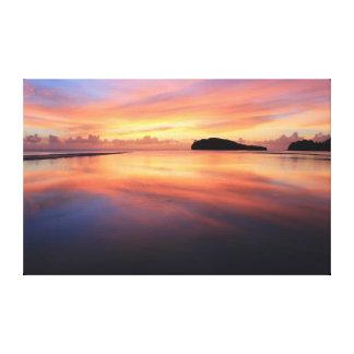 Beautiful Guam Sunset Canvas Print