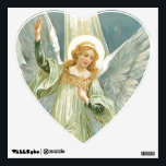 "Beautiful Guardian Angel Wall Decal<br><div class=""desc"">A beautiful guardian angel wall sticker.</div>"