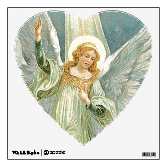 acc5c1f61 Beautiful Guardian Angel Wall Decal | Zazzle.com
