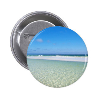 Beautiful Gulf of Mexico 2 Inch Round Button